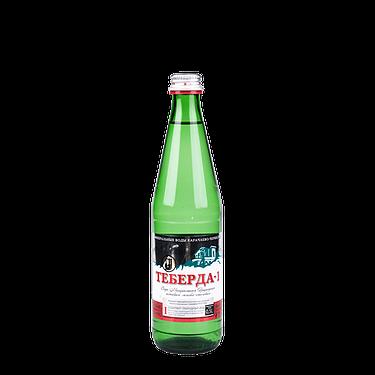 Вода минеральная «Теберда-1» газированная лечебно-столовая, 20 шт. в уп