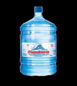 Вода «Ледниковая» питьевая негазированная, 19л