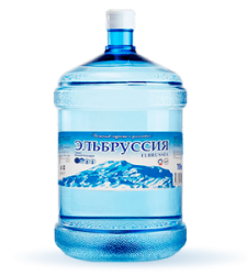 Вода «Эльбруссия» питьевая негазированная
